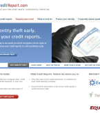 annualcreditreport.com screenshot