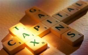 Capital Gains Tax - Large