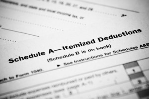 Sch A - Itemized Deductions