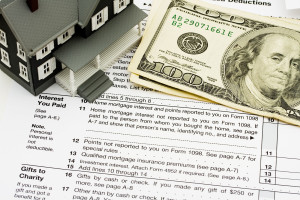 Deduct mortgage interest on taxes