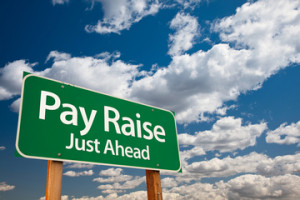 Pay Raise Ahead