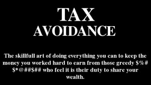 Tax Avoidance Definition