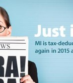 The Tax Deductibility of Mortgage Insurance Receives Another Stay of Execution